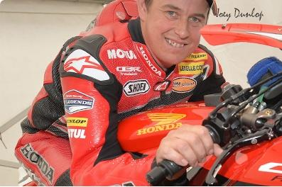 John McGuinness Honda TT Legends