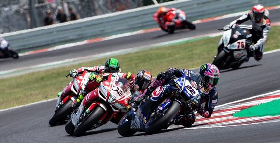 World Superbike - Alex Lowes at Misano