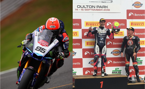 Solid weekend of racing at OUlton Park for Mackenzie boys
