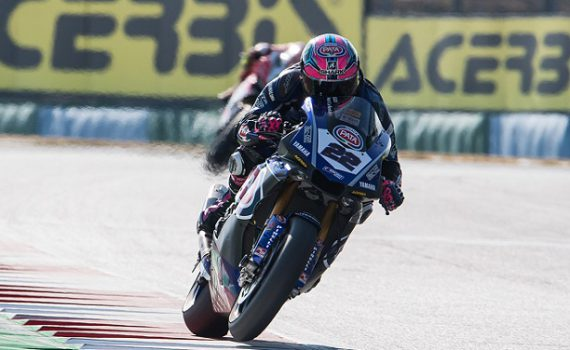 Alex Lowes at Magny-Cours