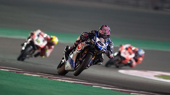 Alex Lowes in Qatar - World Superbike