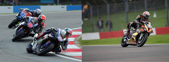 British Superbike Championship - Tarran Mackenzie and Taylor Mackenzie at Donington